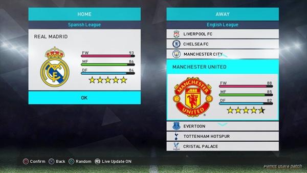 Descargas Pro Evolution Soccer 2018 PS3 Option File