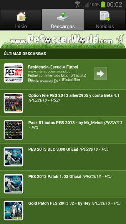 android pesoccerworld