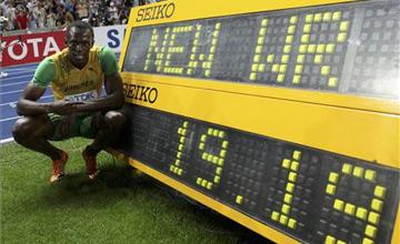 Usain Bolt bate el récord del mundo de 200