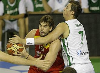 España liquidó en la segunda parte y partidazo de Marc Gasol