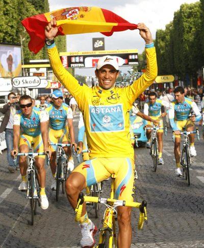 Contador gana su tercer Tour de Francia