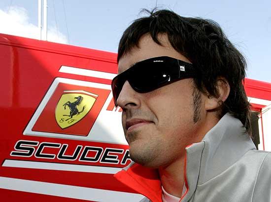 F. Alonso a Ferrari