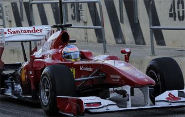 Alonso ya es más rápido que Massa
