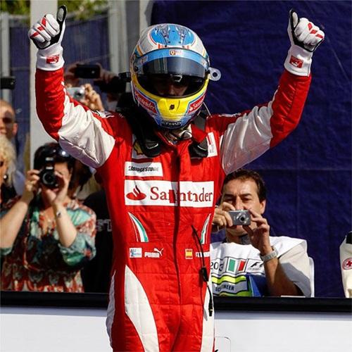 Alonso gana en Monza