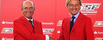 El Banco Santander patrocinará a Ferrari