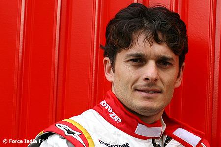 Giancarlo Fisichella es el elegido para pilotar el Ferrari en el GP de Italia