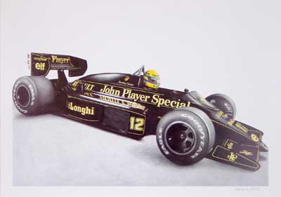 La mítica Lotus F1 Team