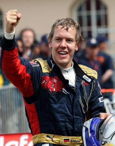 Vettel gana en Japón