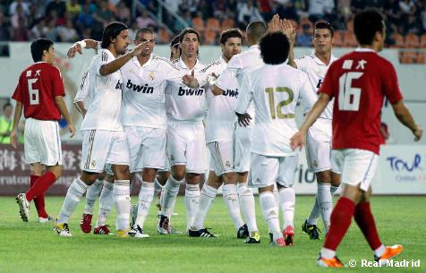 1-7: El Real Madrid se exhibe en Guangzhou