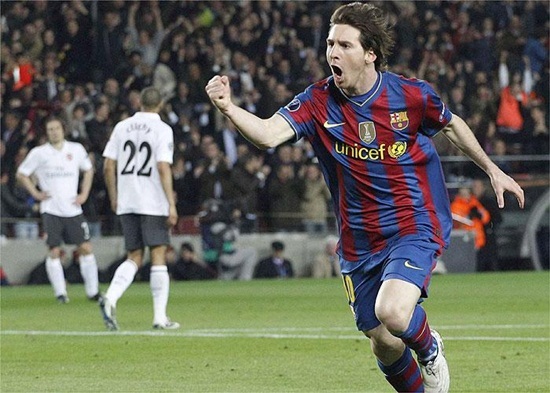 Barcelona 4 - Arsenal 1