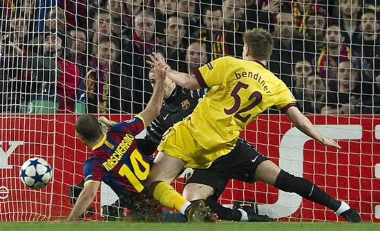 Barcelona 3 - Arsenal 1