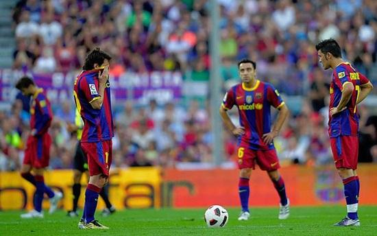 El Hercules derrota al Barcelona