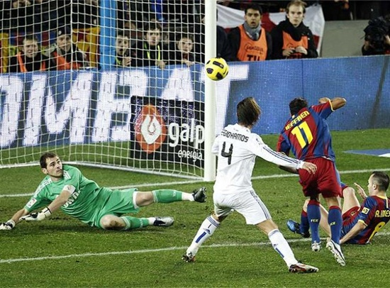 Barcelona 5 - Real Madrid 0