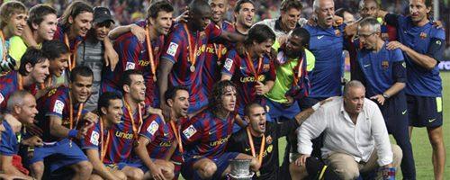 Supercopa: El Barça del triplete vuelve para ganar títulos