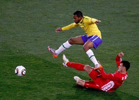 Brasil 2 - Corea del Norte 1