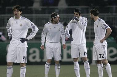 El Madrid no dio la talla