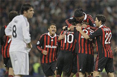 El Real Madrid resucita al Milán