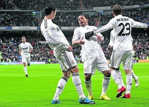 El Real Madrid gana 6-0