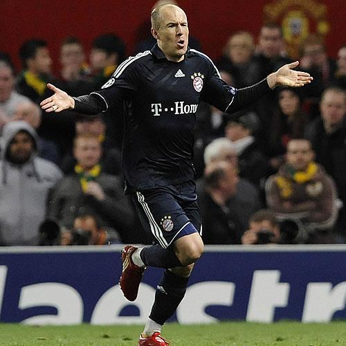 Un golazo de Robben tumba al United