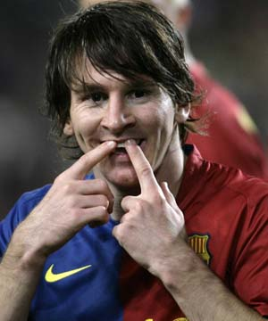 El Barcelona golea al At. Madrid (5-2)
