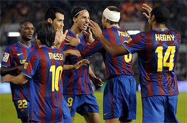 Racing - Barcelona ( 1-4 )