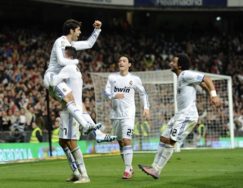 Real Madrid 4 - Villarreal 2