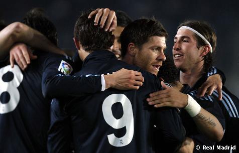 El Real Madrid gana al Xerez por 0-3