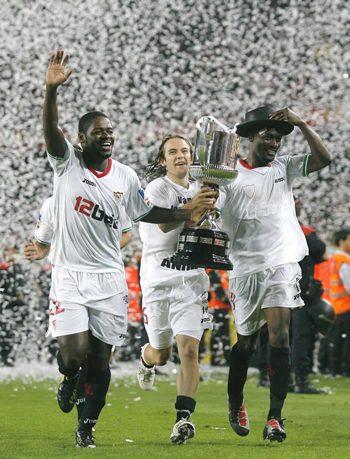 El Sevilla gana la Copa del Rey