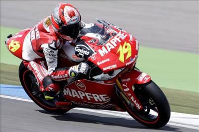 Álvaro Bautista correrá con una Suzuki en el campeonato del mundo de MotoGP de 2010