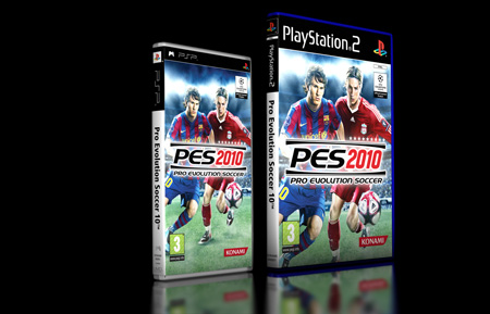 PES 2010 llega para PSP y PlayStation2