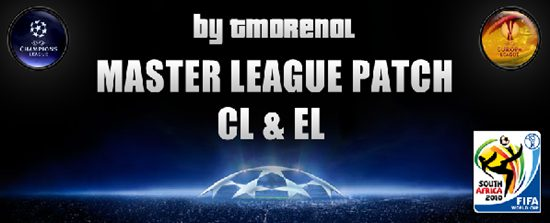 Master League Patch Version Mundial 2010 Sudafrica - by tmorenol