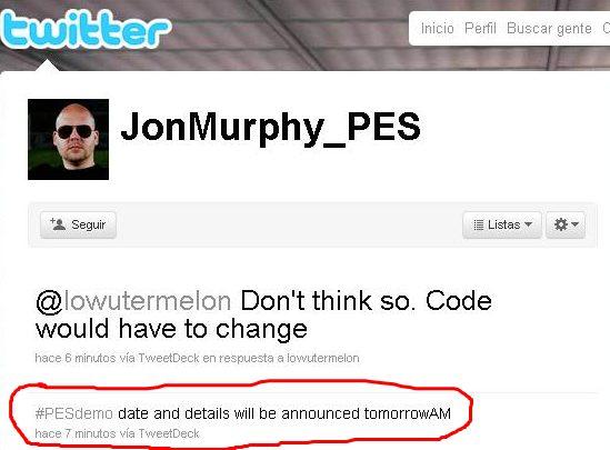 PES2011: Mañana se anuncia la fecha de salida de la demo