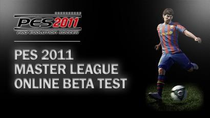 Participa en la BETA TEST de la Liga Máster Online de PES2011