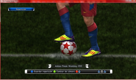 botas messi pro evolution soccer