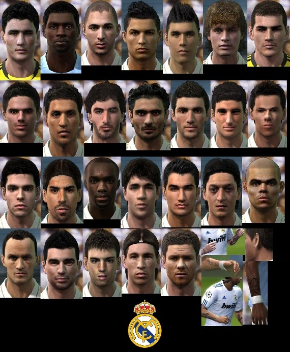 real madrid pro evolution soccer 2011