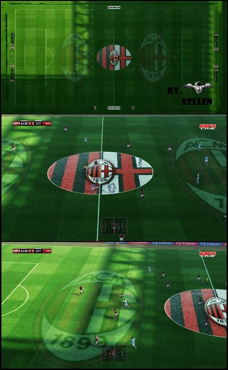 cesped estadio san siro pro evolution soccer