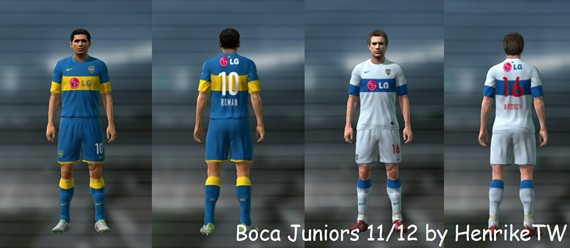 boca juniors pro evolution soccer