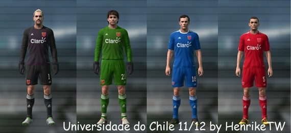 universidad de chile pro evolution soccer