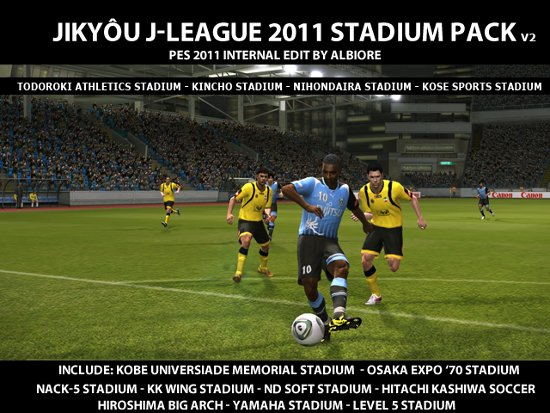 Estadios J league 2011 pro evolution soccer