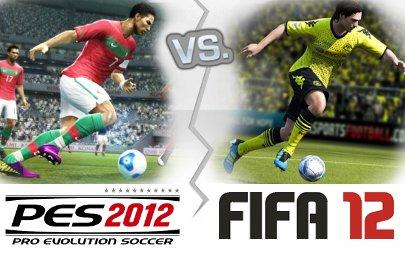 PES2012 rebasa en ventas a FIFA 12