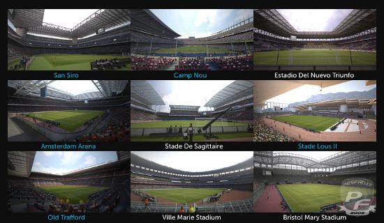 PES2012: Previas de estadios