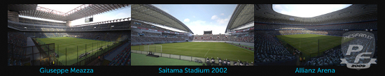 estadios pro evolution soccer 2012