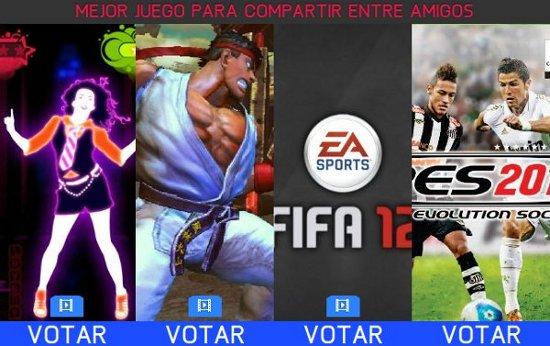 PES 2012: Nominado a mejor juego para jugar con los amigos