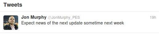 PES2012: Muy pronto en descarga la DLC 1.04