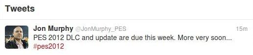 PES2012: Nueva DLC y actualizacion esta semana