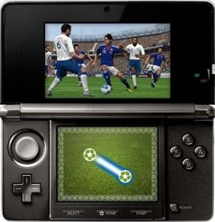 Ya puedes jugar a PES2012 en 3D con la Nintendo 3DS