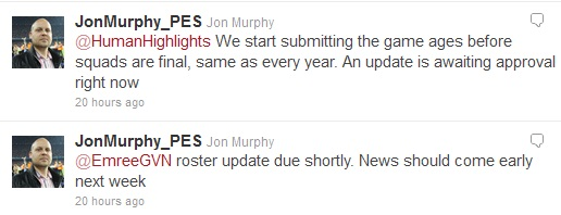 PES2012: Nueva actualizacion oficial la semana que viene