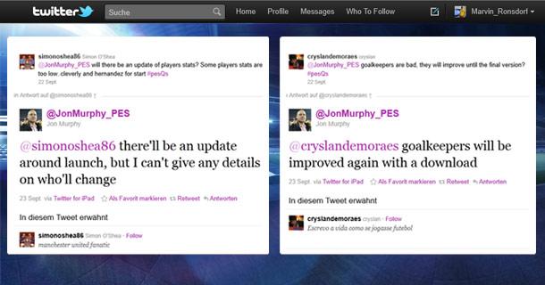 PES2012: Proximamente actualizacion oficial
