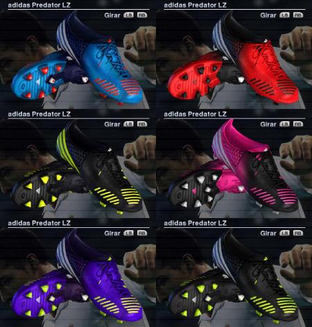 Adidas Predator Para Pes2012