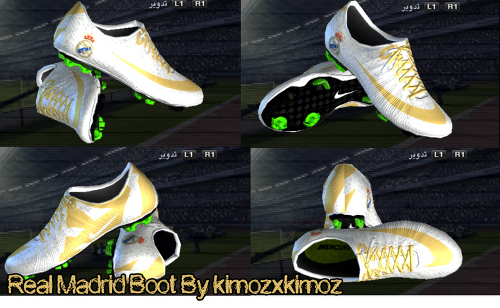 Vapor Superfly III FG Newest Real Madrid Gold White - by kimozxkimoz